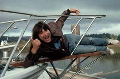 Steve Perry, singer from the rock band Journey, poses on a boat at a shipyard where he is shopping for a boat. Journey Band, I Am A Singer, Neal Schon, Journey Steve Perry, Wheel In The Sky, Man Crush Everyday, Rock Concert, Love Me Forever, Comedians