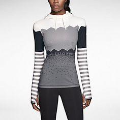 Nike Pro Hyperwarm Engineered Print Women's Training Hoodie. Nike Store (in a Medium)
