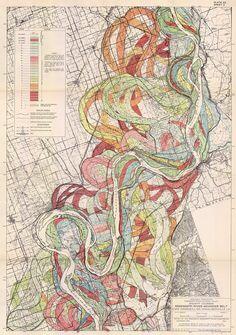 Plate 22, Sheet 2, Ancient Courses Mississippi River Meander Belt