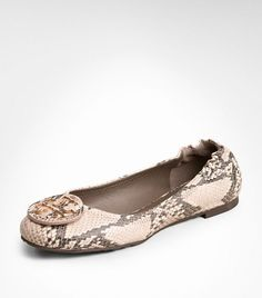 When am I finally going to buy myself a pair of snakeskin TB flats... ughh.. Python Print Reva Ballet Flat