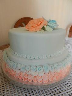 cake rosas