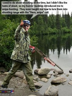 Rare pic of Obama on a snipe hunt...bwahahaha. ROFLMAO!!