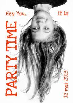 Uitnodiging kinderfeest cover magazine 5 - Uitnodigingen - Kaartje2go