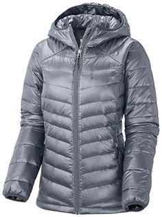 Columbia Womens Gold 650 TurboDown Hdd Jacket XL GRAY -- Read more  at the image link.