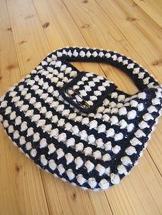 Ravelry: lykkeTAK's crochet bobble handbag