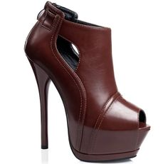 28.68$  Buy now - http://alizfe.worldwells.pw/go.php?t=32724538003 - Size 4~8 New Peep Toe Autumn Ankle Women Boots 14cm High Heels Platform Zipper Women Shoes Boots botas mujer (Check Foot Length)