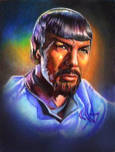Spock's beard by ~choffman36 on deviantART (Vulcan)