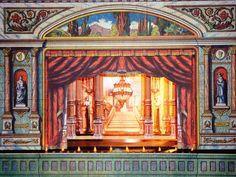 Paper Theater found on french blog - Blog de crinoux :Théâtre de papier et autres petites choses, Théâtre de Christelle (1)
