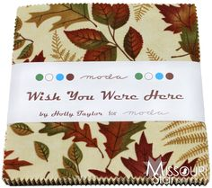 Wish You Were Here Charm Pack from Missouri Star Quilt Co