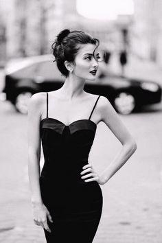 Little black dress / Check my website: http://www.danieltarka.com/