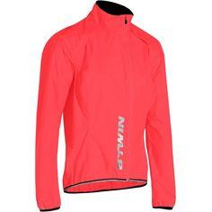 15 - Cycling Cycling - 500 Women's Waterproof Cycling Jacket - Pink B'TWIN - Helmet, Clothing and Footwear