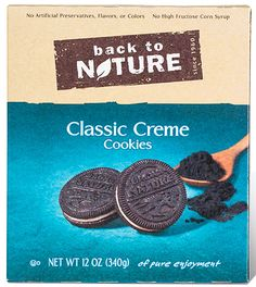 Back to Nature Issues Allergy Alert for Limited Number of Classic Crème Cookies Due to Undeclared Milk
