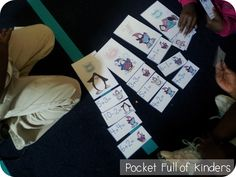 Pocket Full of Kinders!: Math Centers with printables too