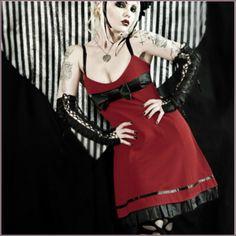 Heavy Red - J Rock Dress