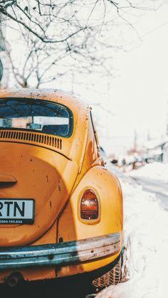 11 Beautiful Vintage Photos Yellow Volkswagen Beetle Parked Near Road bus Car Backgrounds, Wallpaper Backgrounds, Van Vw, Auto Volkswagen, Volkswagen Group, Bmw Autos, Pt Cruiser, Bucharest Romania, New Wallpaper
