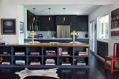 new way to combine the kitchen and livingroom
