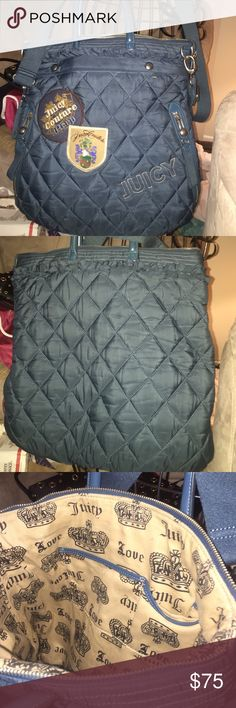Juicy purse Like new condition very big and roomy. Juicy Couture Bags Shoulder Bags