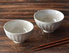 スタジオ M' デイジー茶碗 粉引