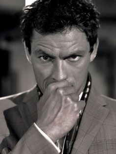 Everybody loves Brad, George, Ben, Paul and Ryan, but we've got our eyes on some much slept on but still delicious eye candy. Most Beautiful Man, Beautiful People, Handsome Boy Modeling School, Dominic West, Johnny English, Gay, Face Expressions, George Clooney, White Boys