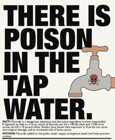 fluoride in water is a toxin