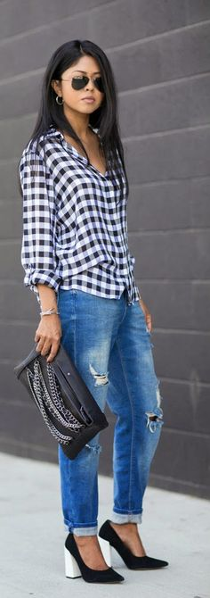 Everyday New Fashion: GINGHAM STYLE by Walk In Wonderland
