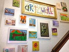 How to Display Kids' Artwork (Without Disrupting Your Decor) So cute! I love all of these How To ideas to display my kids' artwork. This is perfect for all of their summer art projects! Displaying Kids Artwork, Artwork Display, Art Wall Kids Display, Childrens Art Display, Frame Display, Display Ideas, Summer Art Projects, Toy Rooms, Kids Bedroom