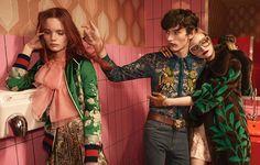 Gucci fotografa sua campanha de verão em Berlim