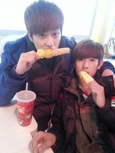 DongHyun e MinWoo