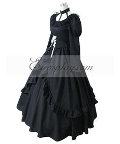 D.Gray-man Lenalee Lee Princess Black Dress Cosplay Costume #Sponsored #Lenalee, #Lee, #Gray Unique Toddler Halloween Costumes, Lenalee Lee, Cosplay Costumes, Cosplay Ideas, Vintage Style Outfits, Princess, Gray, Grunge, Black