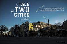 Baltimore Magazine. April 2016. A Tale of Two Cities. Photography by Justin Tsucalas.