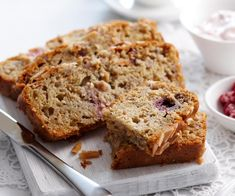 The best Raspberry, Pear and Muesli Loaf recipe you will ever find. Welcome to RecipesPlus, your premier destination for delicious and dreamy food inspiration. Loaf Recipes, Pastry Recipes, Baking Recipes, Cake Recipes, Delicious Recipes, Muesli Bread, Truffle Recipe, Almond Cakes, Sweet Bread