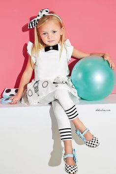 ALALOSHA: VOGUE ENFANTS: The doll print dresses of the Simonetta SS15 collection are going to be your cutie-pie summer time essentials