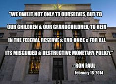 #EndTheFed INFOWARS.COM  BECAUSE THERE'S A WAR ON FOR YOUR MIND