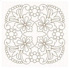 Quilt Blocks Embroidery Pattern Machine Embroidery Design