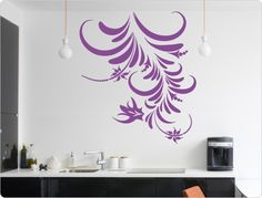 Cute Wandtattoo Blumenranke als Wandekoration Mit dieser Zimmerpflanze gelingt dir ein atemberaubendes Naturschauspiel in deinem Wohnraum u XXL Design
