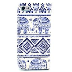 Elephant Tribal Case with Card Holder for iPhone//
