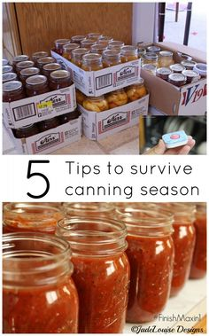 {ends 9/30} Gardening and canning are not easy, but they're so worth it! Here are 5 tips to make canning season run smoothly. Plus a #giveaway! #FinishMaxin1