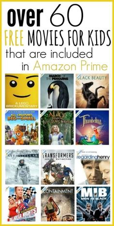 A complete list of school lunch ideas for kids!) Read more for quick and easy ideas on what to pack for lunch for preschool or daycare. Free Kids Movies, Best Kid Movies, Good Movies, Movie To Watch List, Movie List, Nerd, Amazon Prime Free Movies, Best Kids Watches, Robin