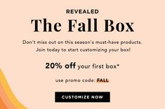 Check out a sneak peak of what's inside DeluxHair's affiliate partner FabfitFun's new and upcoming Fall Box! Affiliate Partner, Natural Haircare, Natural Hair Styles, Fall, Autumn, Fall Season