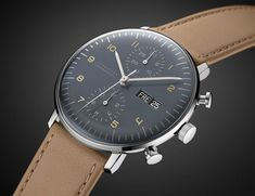 A minimalist watch is an artful accent, rather than a flashy main course. With…
