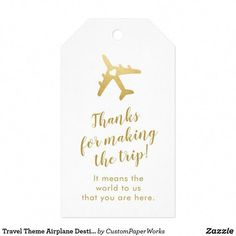 Exclusive Airplane Heart Travel Theme Destination Wedding Favor Gift Tags are great for beach weddings, island weddings or any time your guests travel for your big day. Customize online in minutes and add to your wedding favors, hotel guest goody bags or Coffee Wedding Favors, Destination Wedding Favors, Honey Wedding Favors, Creative Wedding Favors, Inexpensive Wedding Favors, Elegant Wedding Favors, Edible Wedding Favors, Wedding Gifts For Guests, Bridal Shower Favors