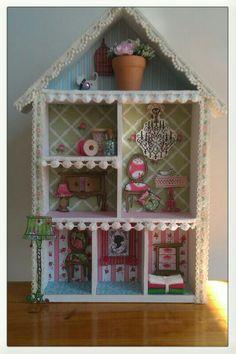 Mijn eerste workshop voorbeeld 'Dameshuisje'