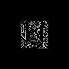 Minimal yet complex geometric pattern with Bird motif. Pichwai Paintings, Indian Art Paintings, Geometric Graphic Design, Geometric Art, Madhubani Art, Madhubani Painting, Worli Painting, Fabric Painting, Arte Tribal