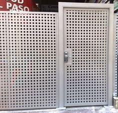 puerta chapa microperforada - Buscar con Google