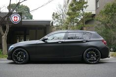 BMW 1 Series F20 on HRE P40S Wheels Bmw 116i, Bmw Cars, My Dream Car, Dream Cars, Bmw Touring, 135i, Performance Wheels, Bmw 1 Series, Black Wheels