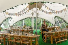 country chic marquee