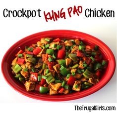 Crockpot Kung Pao Chicken Recipe! ~ from TheFrugalGirls.com {this simple and delicious Slow Cooker dinner is full of sauce, spice, heat, and zing!} #slowcooker #recipes #thefrugalgirls
