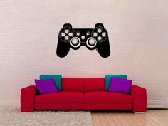Video Game Controller X-Box Vinyl Wall Decal Sticker Graphic