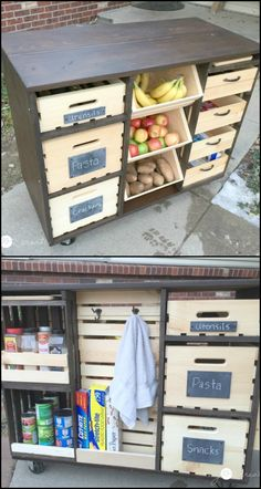 1000 ideas about small kitchen pantry on pinterest pantry pantry ideas and kitchen pantries - Space saving movable kitchen island get efficient kitchen traffic ...