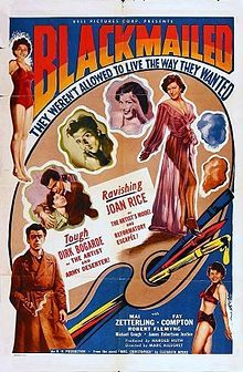 Blackmailed (1951 film)